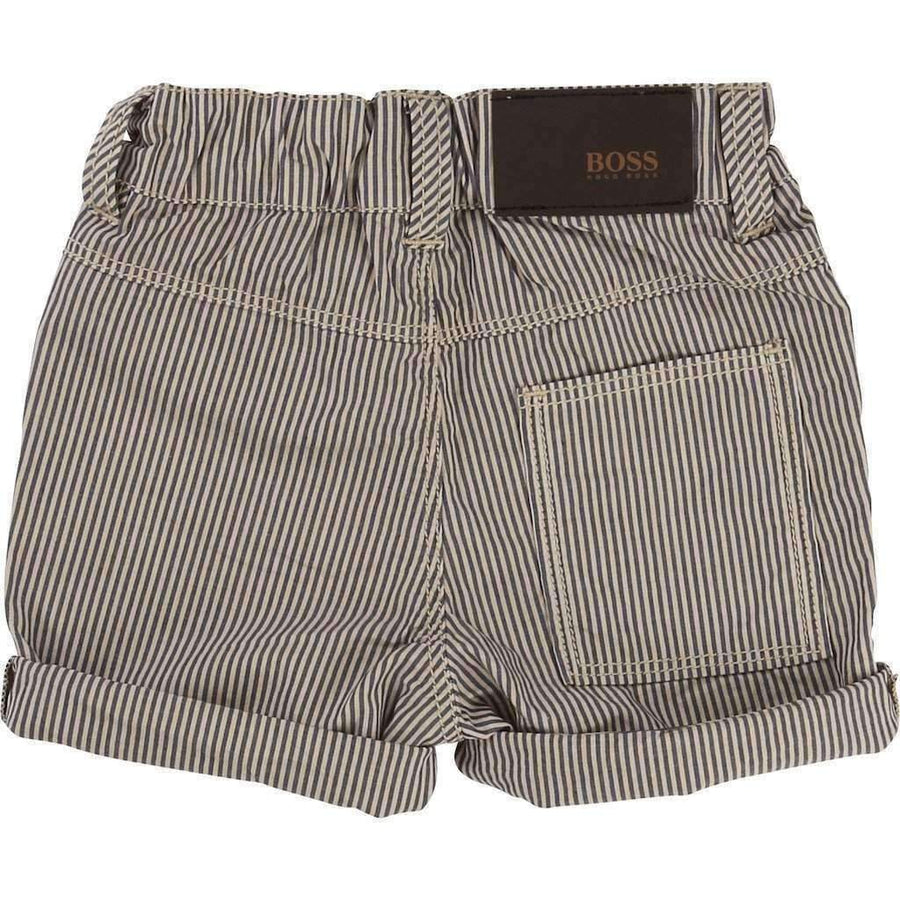 Boss Striped Bermuda Shorts