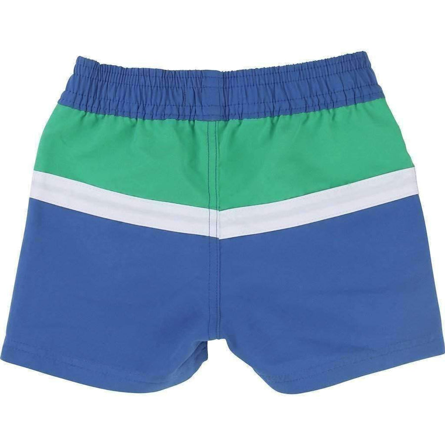 Boss Striped Swim Shorts