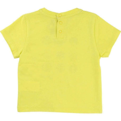Boss Yellow Maritime T-Shirt-Shirts-BOSS-kids atelier