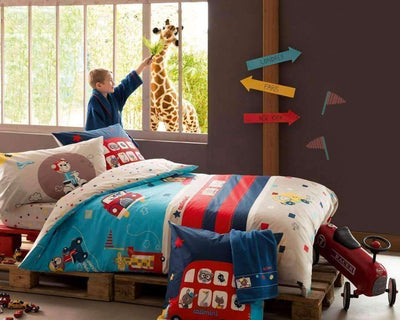 City Tour Bedset-Bedding-Catimini-kids atelier