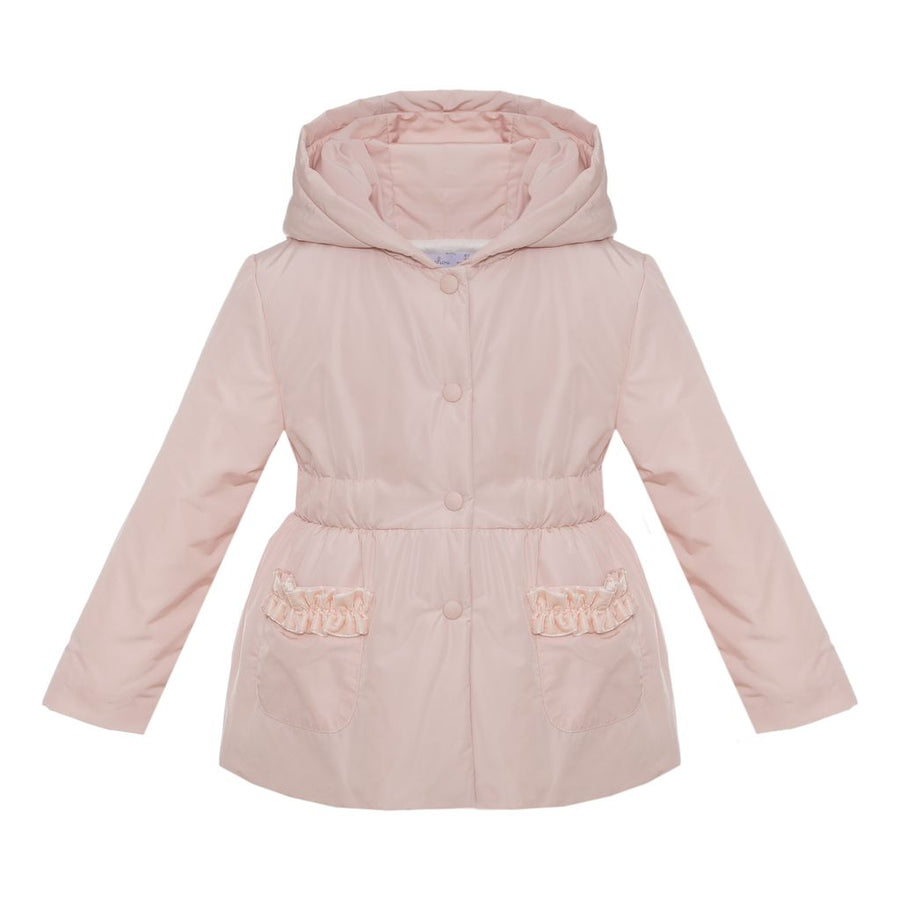 Pale Pink Woven Coat