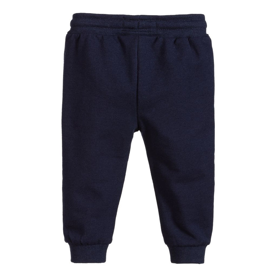 MAYORAL-711-95-CUFFED FLEECE TROUSERS-NAVY
