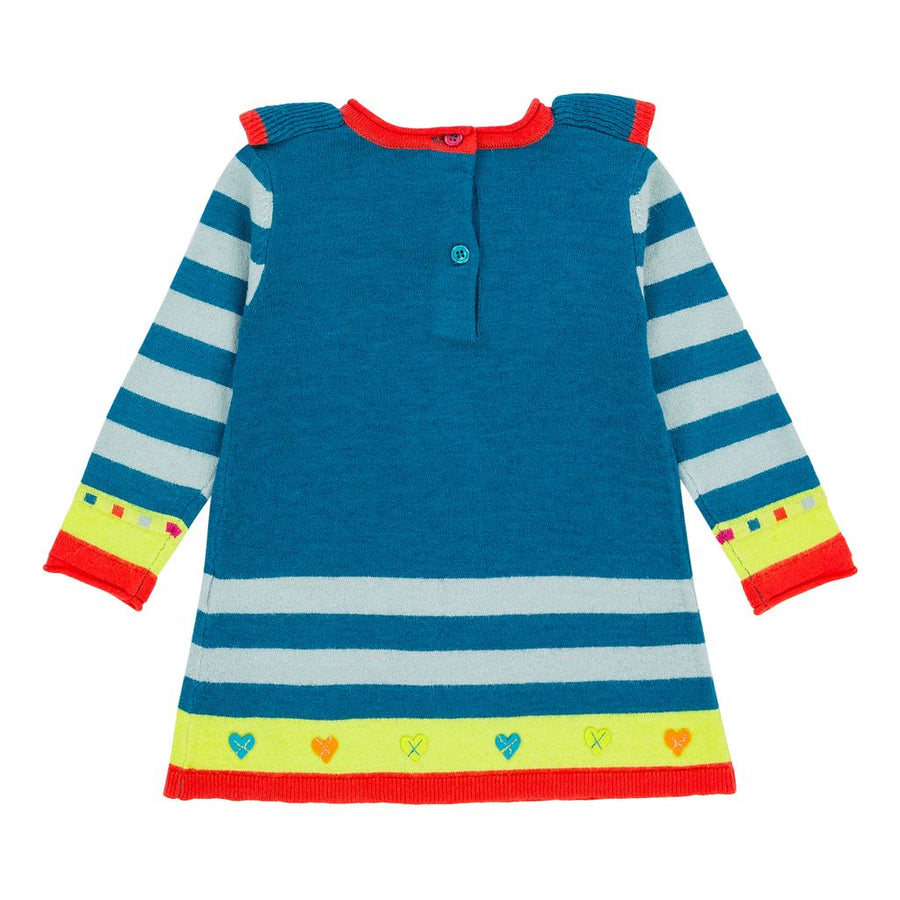 Deux Par Deux Capri Breeze Owl Knit Tunic