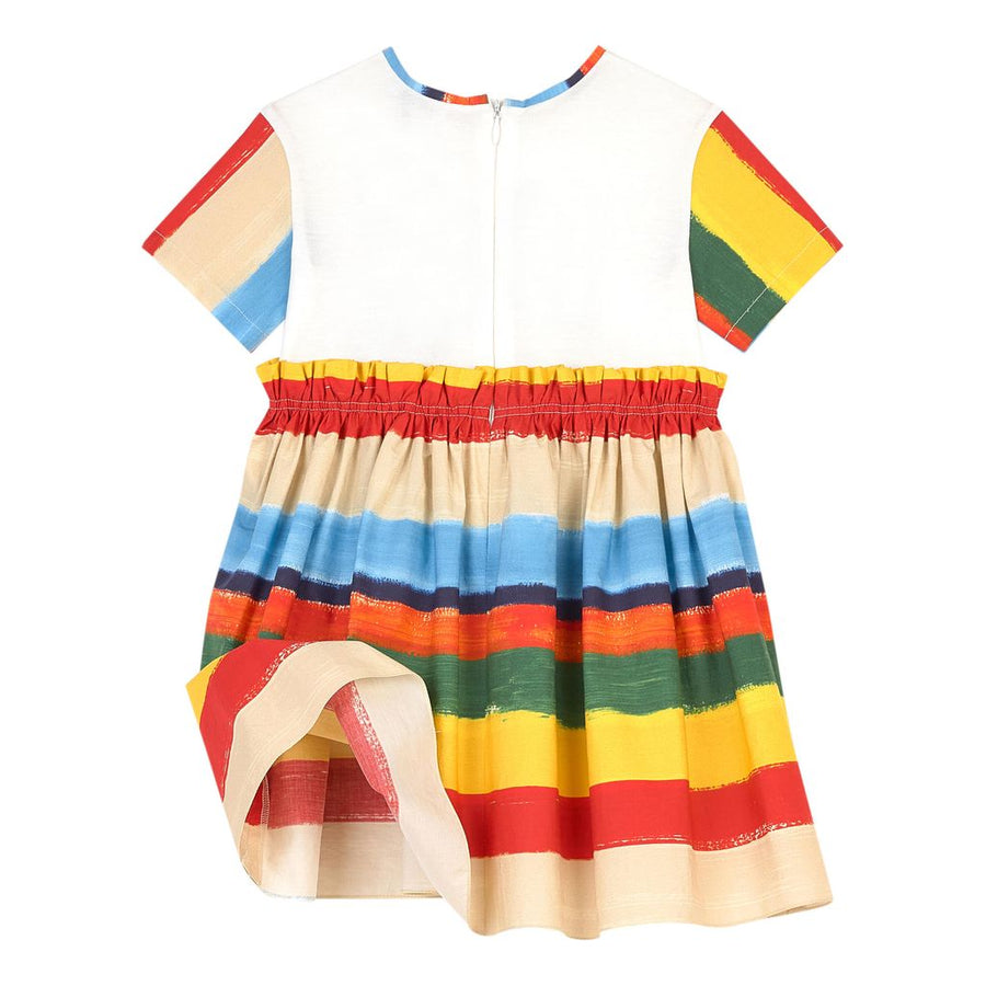 Dolce & Gabbana Multi-color Logo Dress
