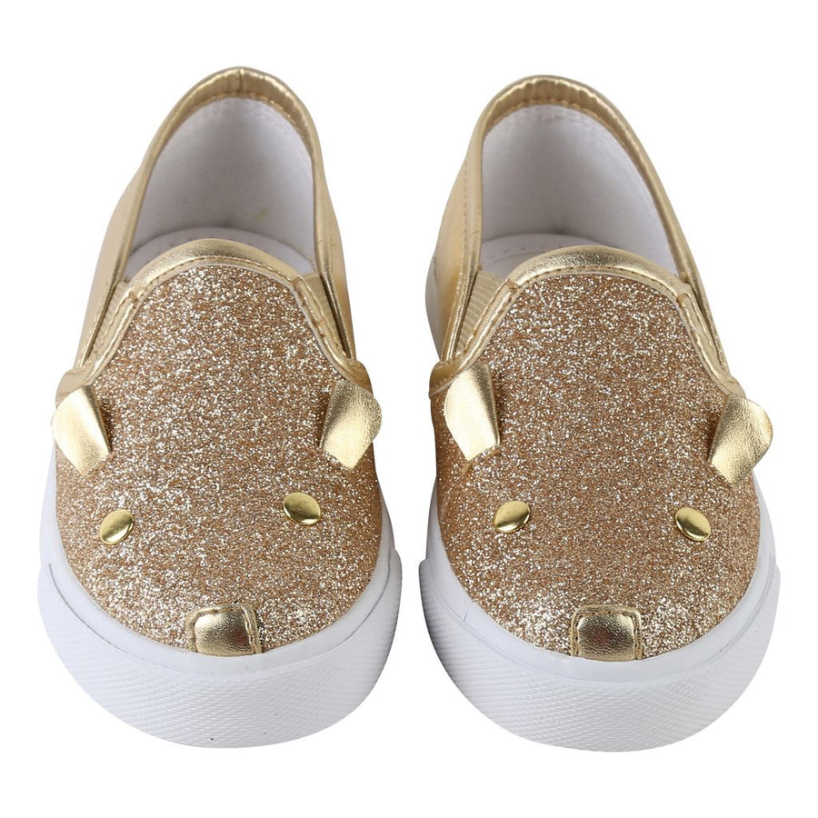 Little Marc Jacobs Gold Slip Ons