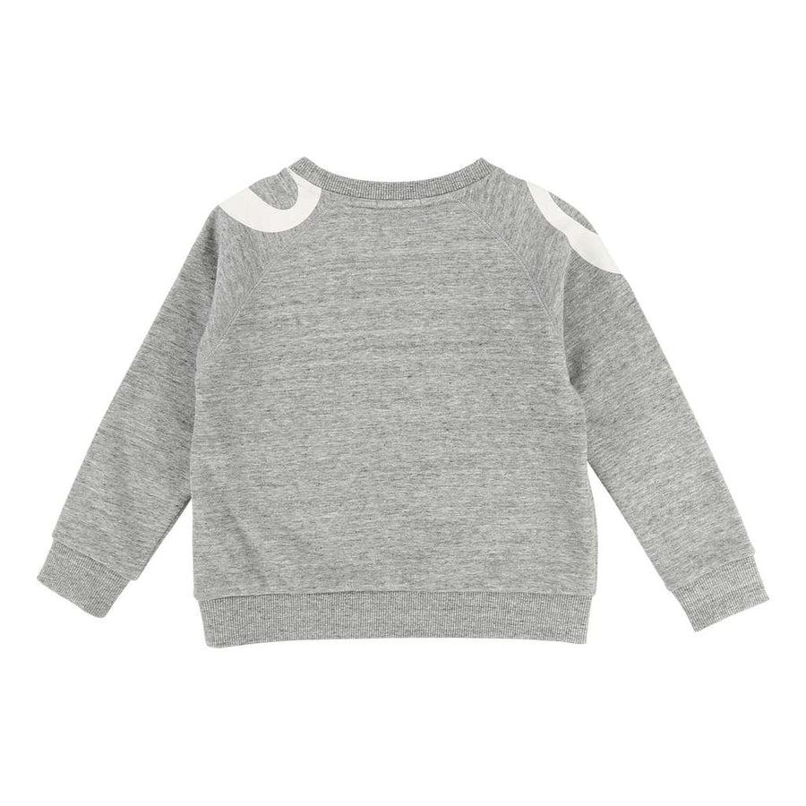 Chloe Grey Cotton Sweatshirt-Default-Chloe-kids atelier