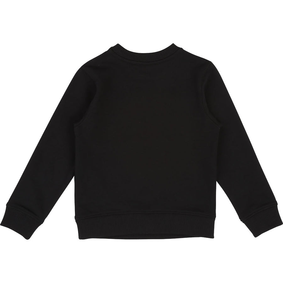 Givenchy Black Logo Sweatshirt-h25110-09b-