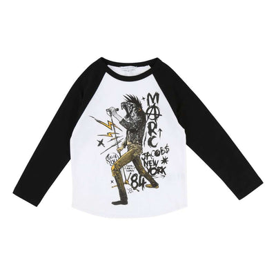 JACOB-SS17-KB-LONG SLEEVE T-SHIRT-W25274-N50-Default-Little Marc Jacobs-kids atelier