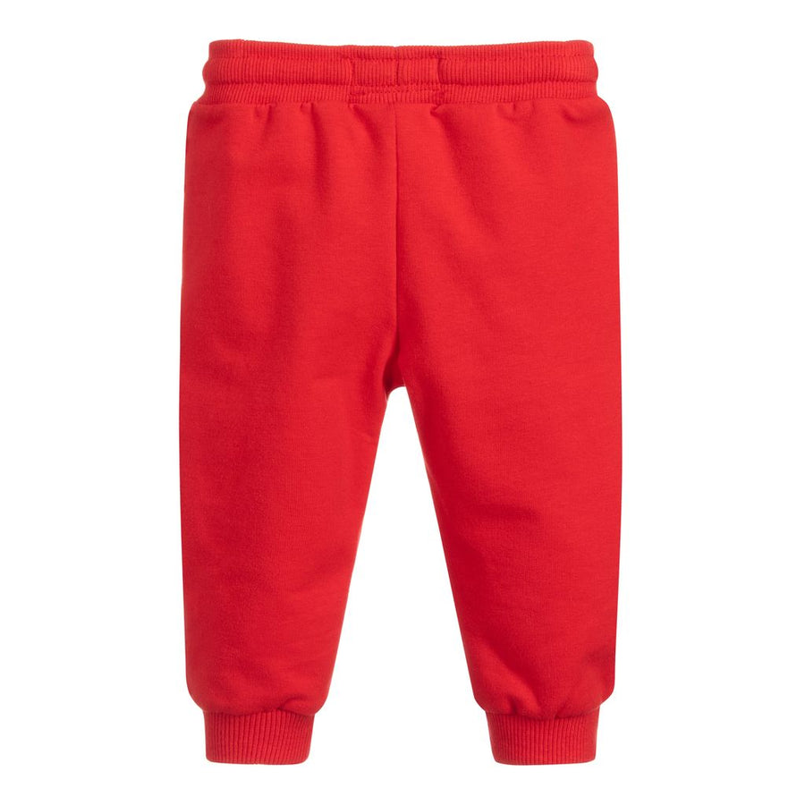 MAYORAL-711-92-CUFFED FLEECE TROUSERS-HIBISCUS