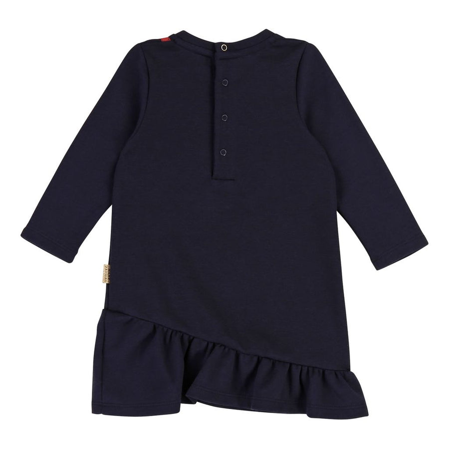Little Marc Jacobs Navy Jersey Dress