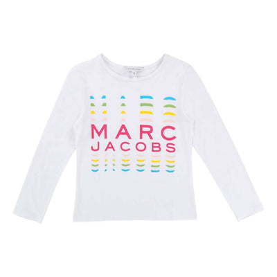 JACOB-SS17-KG-SHORT SLEEVES TEE-SHIRT-W15355-10B-Default-Little Marc Jacobs-kids atelier