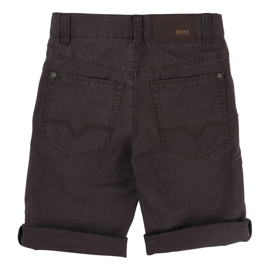 Dark Gray Bermuda Shorts