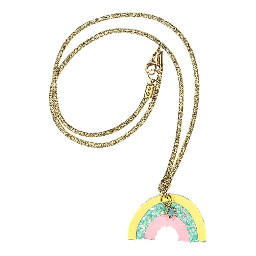IllyTrilly Over The Rainbow Leather Necklace