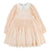 Chloé Pale Pink Couture Silk Crêpe Dress