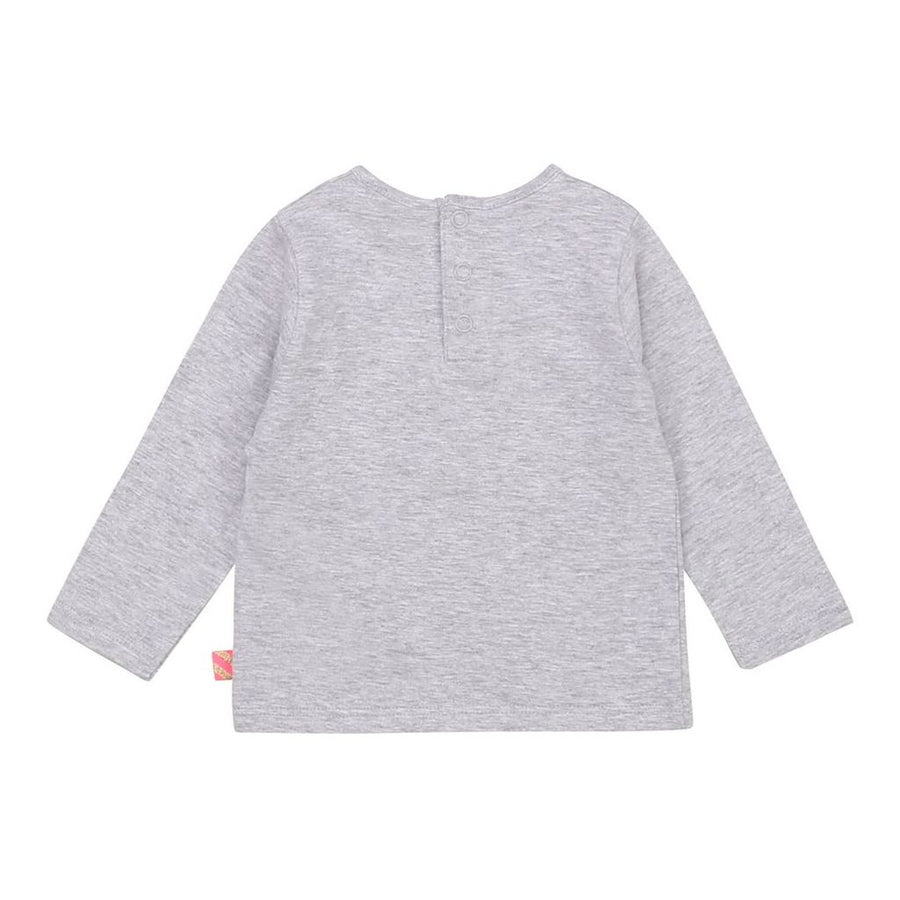 BLUSH-T-SHIRT-U05329-A32 CHINE GREY
