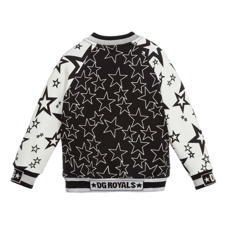 BLACK ROYAL STAR SWEATSHIRT