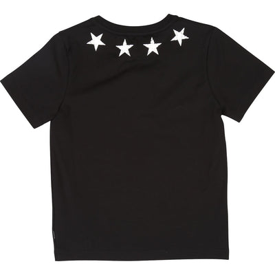 Givenchy Black Stars Short Sleeve T-Shirt -h25095-09b-