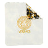 VERSACE-OUTDOOR BLANKET-YE000214-YA00019-A2088-WHITE/GOLD