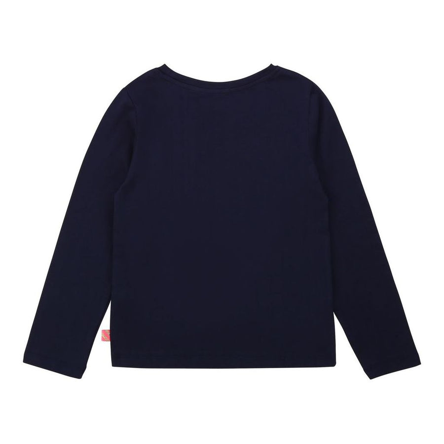 BLUSH-T-SHIRT-U15805-85T NAVY