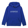 GIVENCHY-HOODED SWEATSHIRT-H25206-865 ELECTRIC BLUE