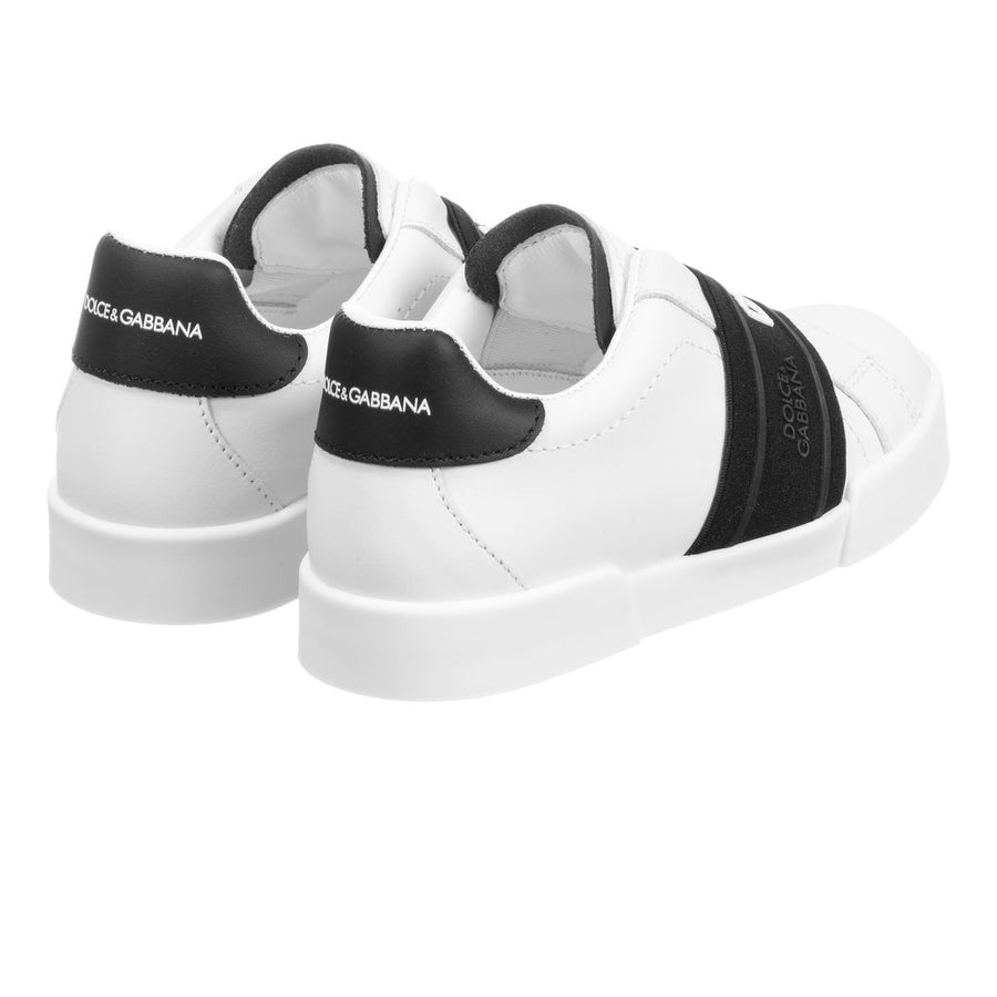 WHITE LOGO CLASSIC SNEAKERS