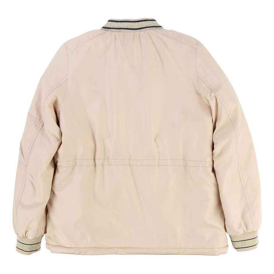 Chloe Windbreaker With Faux Fur Interior Jacket