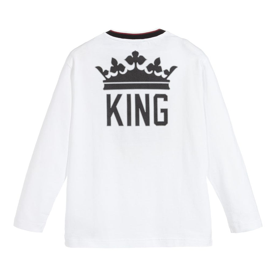Dolce & Gabbana White King T-shirt