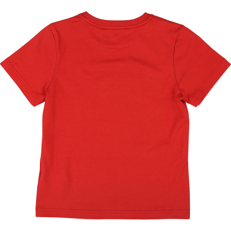 GIVENCHY RED LOGO SHORT SLEEVE T-SHIRT