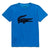 LACOSTE-TJ2910-CW5-ULTRAMARINE/NAVY BLUE CROC GRAPHIC T-SHIRT