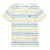Beige Multi Stripes T-Shirt