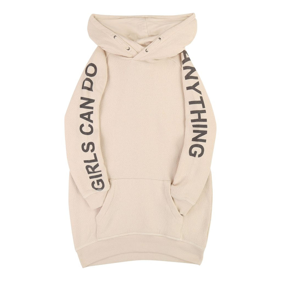 Zadig & Voltaire Ivory Hooded Dress