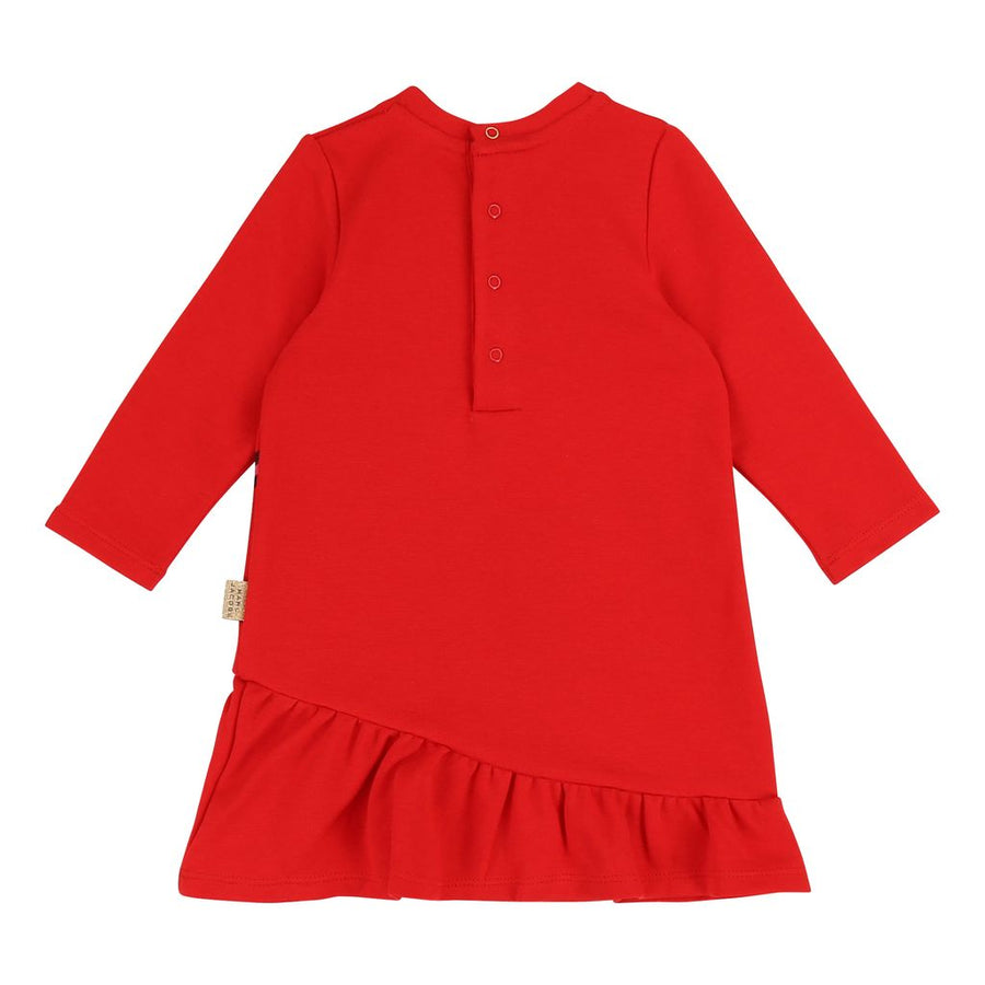Little Marc Jacobs Bright Red Jersey Dress