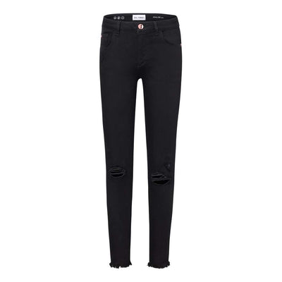 BLACK OUT CHLOE DENIM JEANS