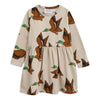 Mini Rodini Beige Duck Dress-Dresses-Mini Rodini-kids atelier