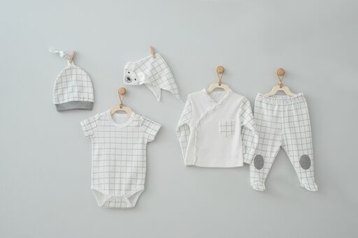 Andy Wawa Animal Nature Baby Cottons 5 PC Set