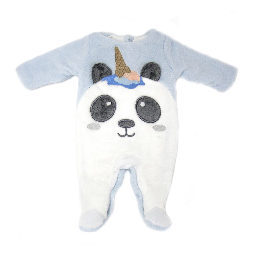 Powder Blue Panda Bodysuit