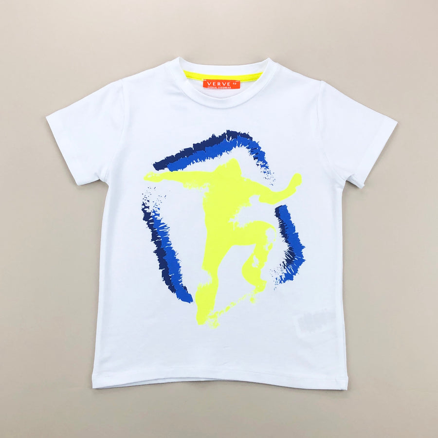 Blue Dancing Man T-Shirt