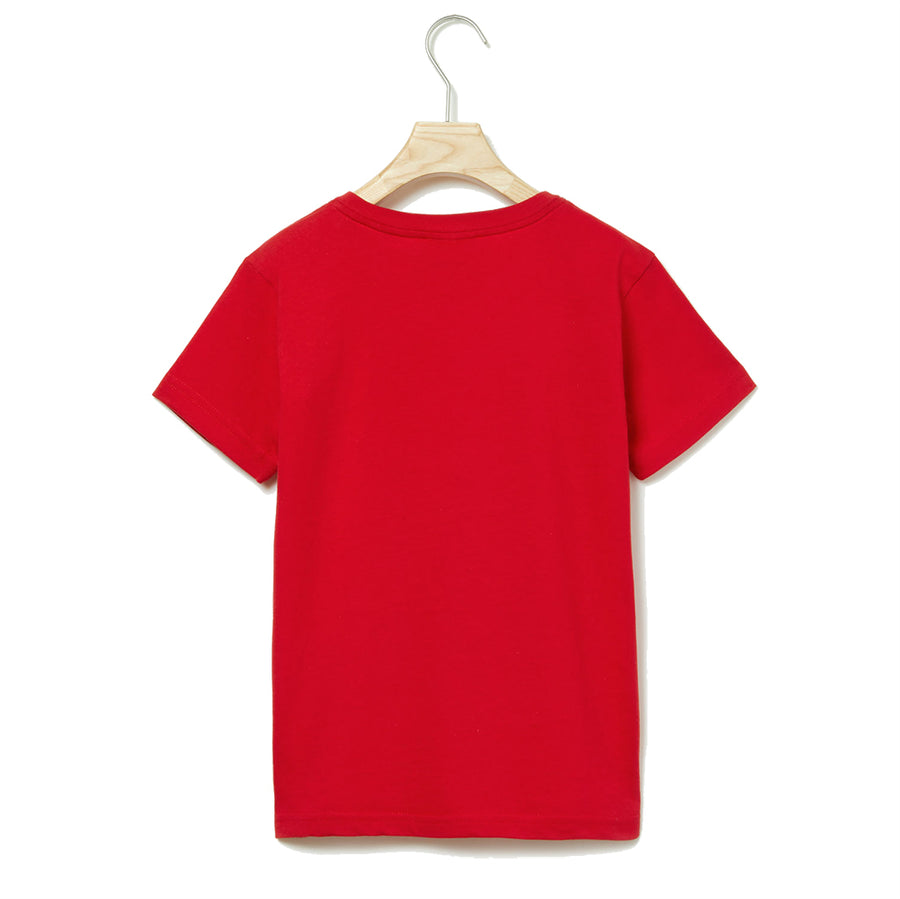 LACOSTE-TJ1441-240-RED T-SHIRT
