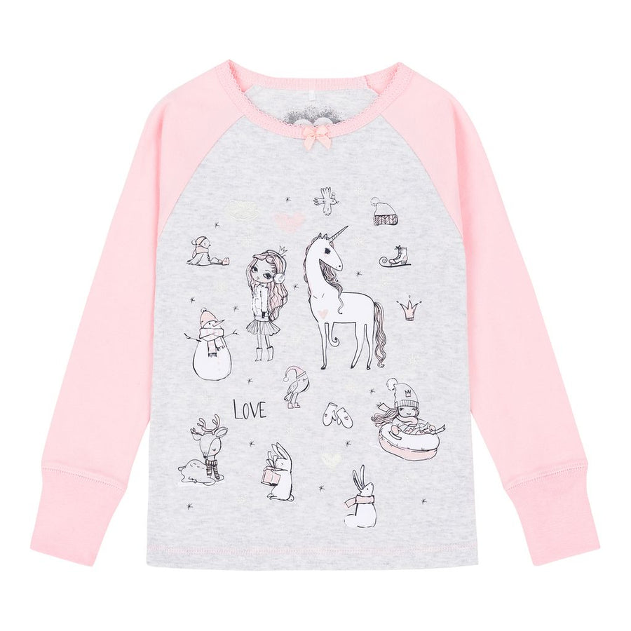 Pink Unicorns Pajamas