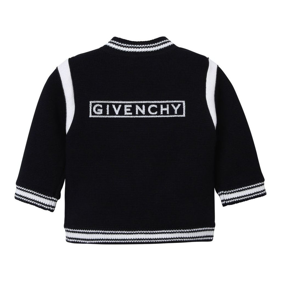 GIVENCHY-KNITTED CARDIGAN-H05134-09B BLACK