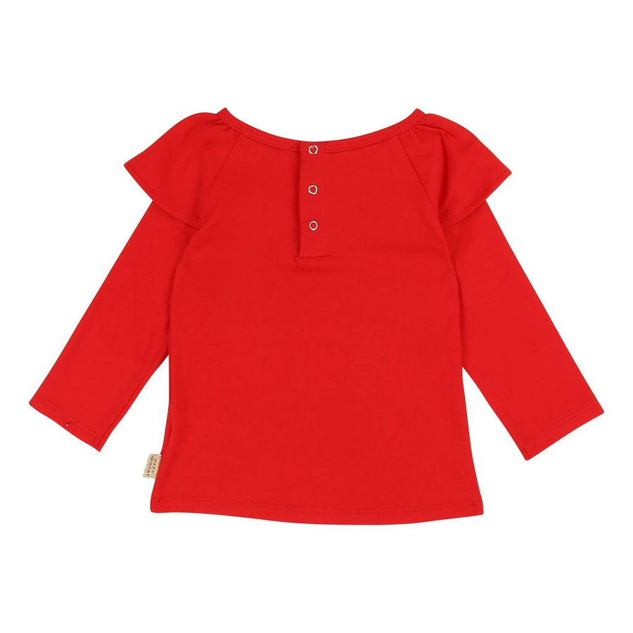 Little Marc Jacobs Bright Red Graphic T-Shirt