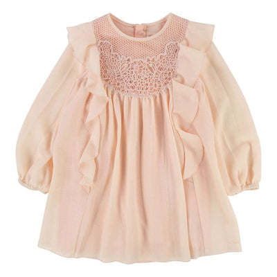 Chloe Pink Couture Dress-Default-Chloe-kids atelier