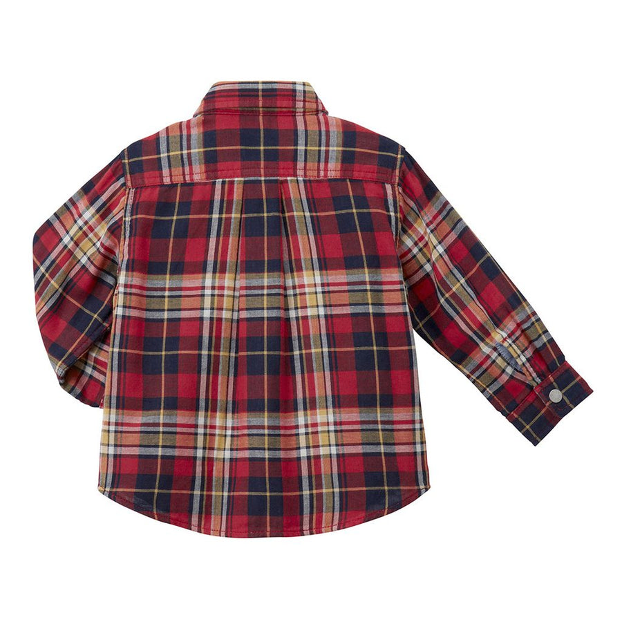 Miki House Red Reversible Shirt