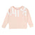 Chloe Pink Cotton Sweatshirt