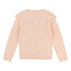 Chloe Pink Cotton Knitted Sweater-Default-Chloe-kids atelier