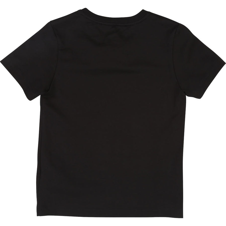 GIVENCHY BLACK LOGO SHORT SLEEVE T-SHIRT