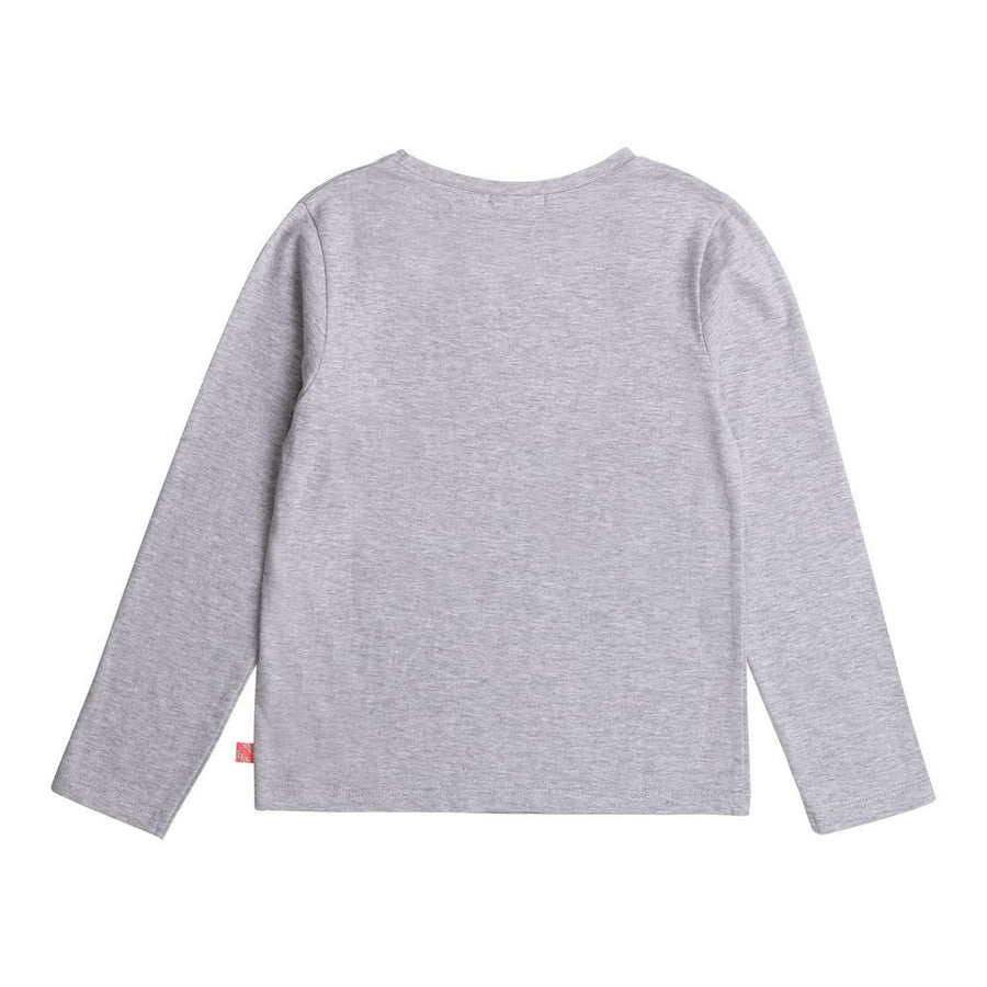 BLUSH-T-SHIRT-U15790-A32 CHINE GREY