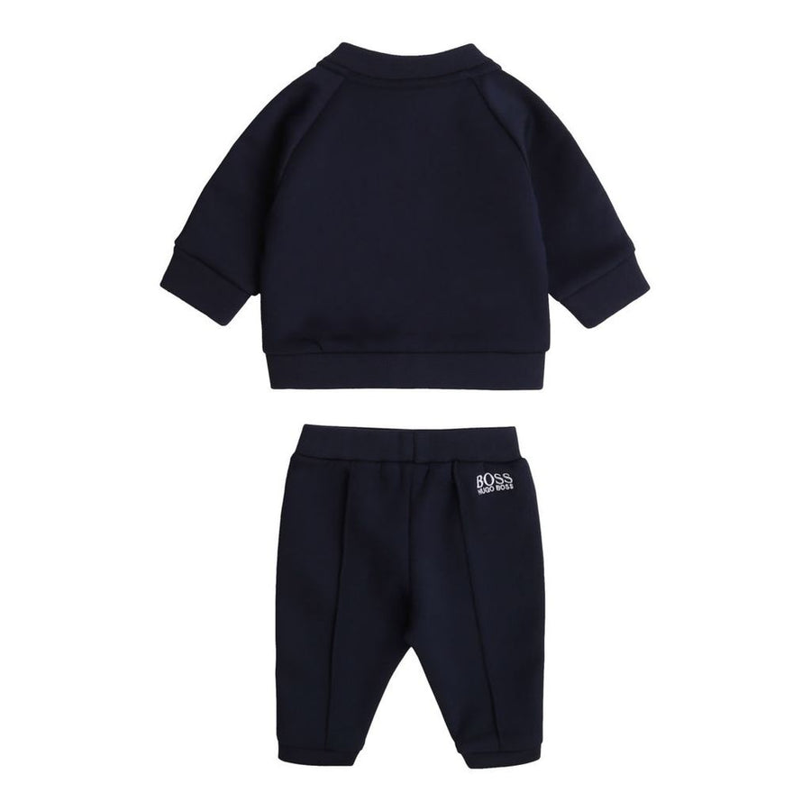 BOSS-TRACK SUIT-J98288-849 NAVY