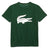 LACOSTE-TJ2910-291-GREEN/WHITE CROC GRAPHIC T-SHIRT