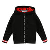 givenchy black hooded cardigan-h25044-m99